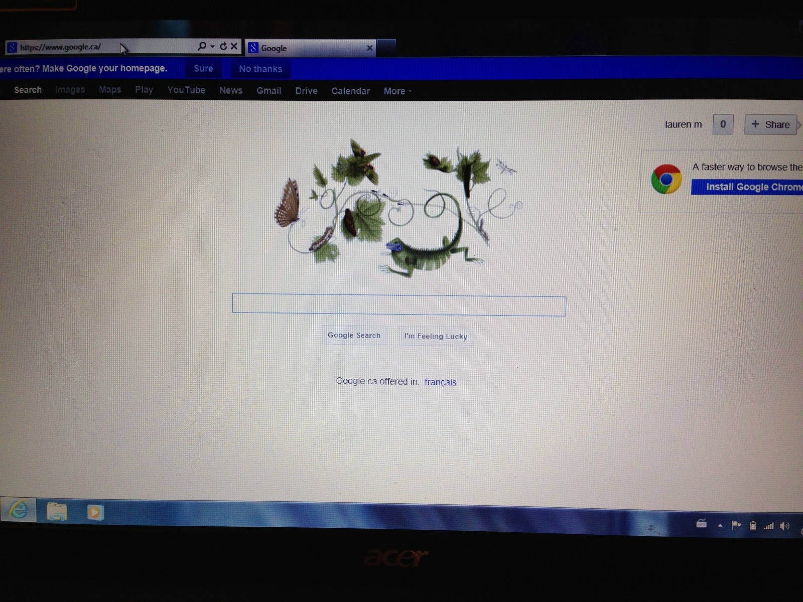 calendar google en français