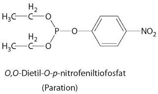 O,O-Dietil-O-p-nitrofeniltiofosfat Paration