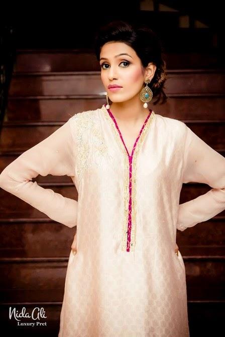 NidaAliLuxuryPretCollection2014 11  - Nida Ali Luxury Pret Collection 2014