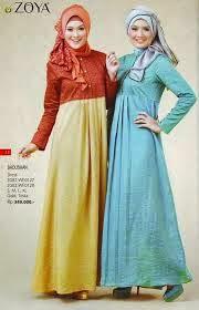 Butik jeng ita produk busana dan fashion cantik terbaru Baju gamis zoya