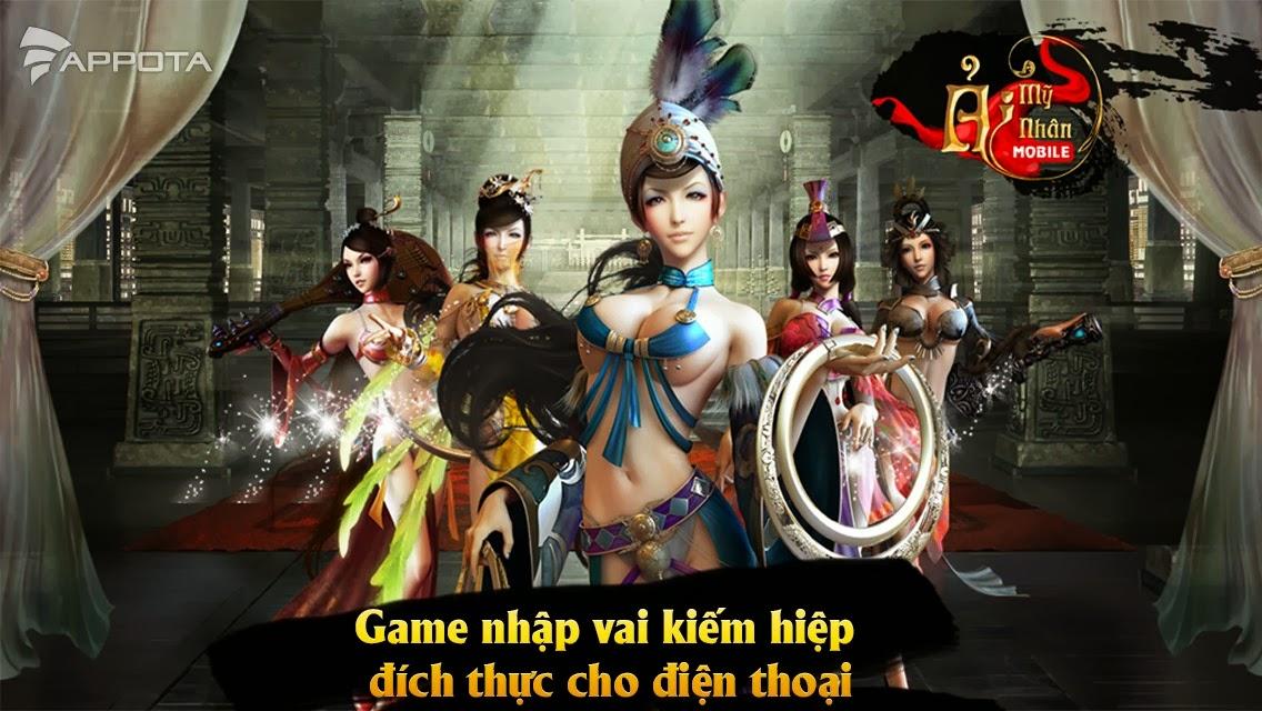Game ải mỹ nhân mobile online hot