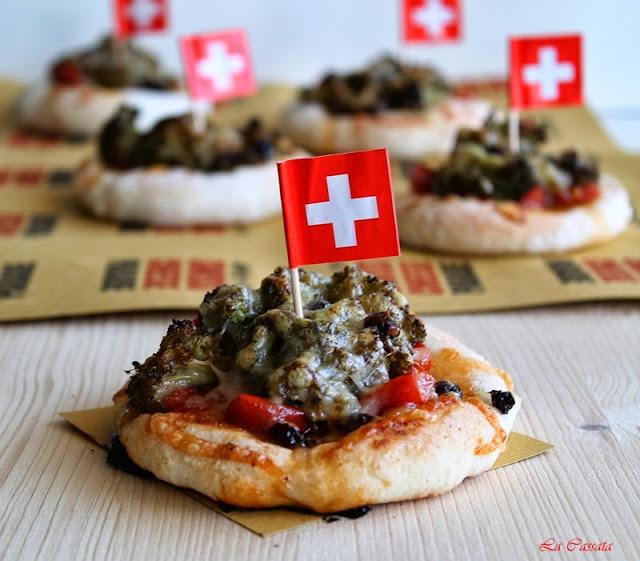 pizzette vegetariane