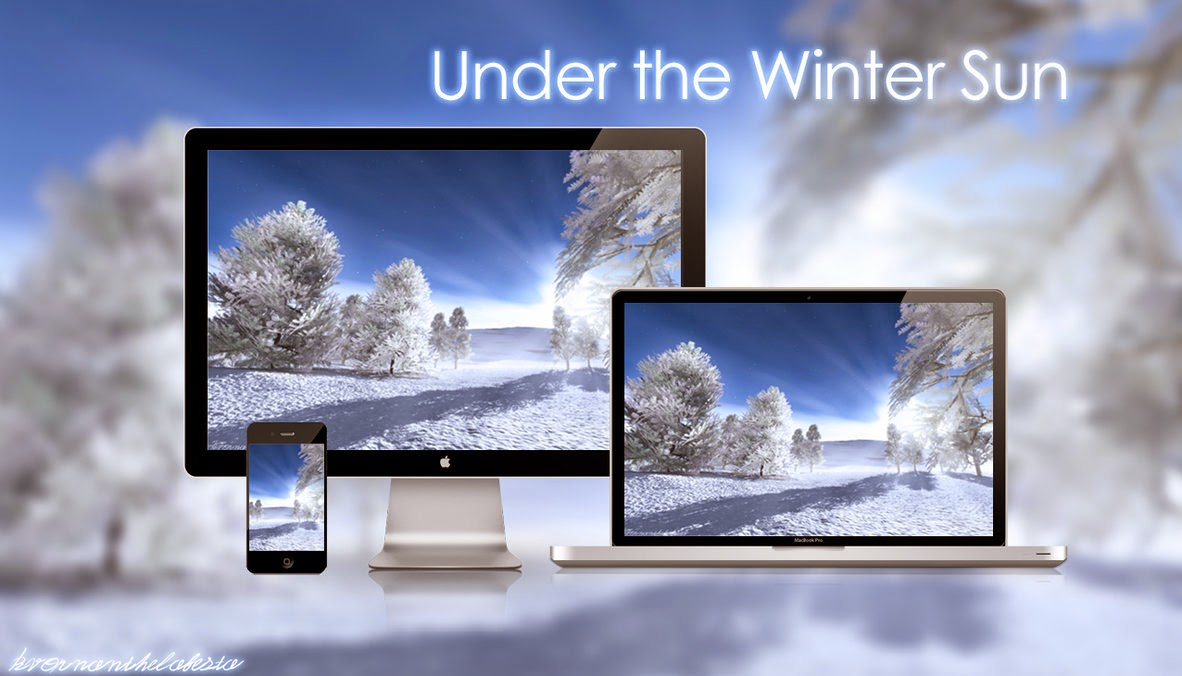 Under the Winter Sun Wallpaper Pack