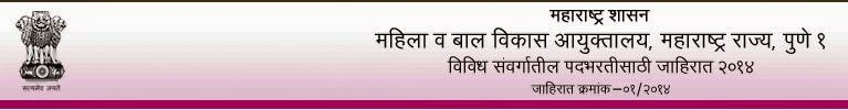 Mahila Bal Vikas List of Candidates Selected for Walk in interview & Industrial Training 2014