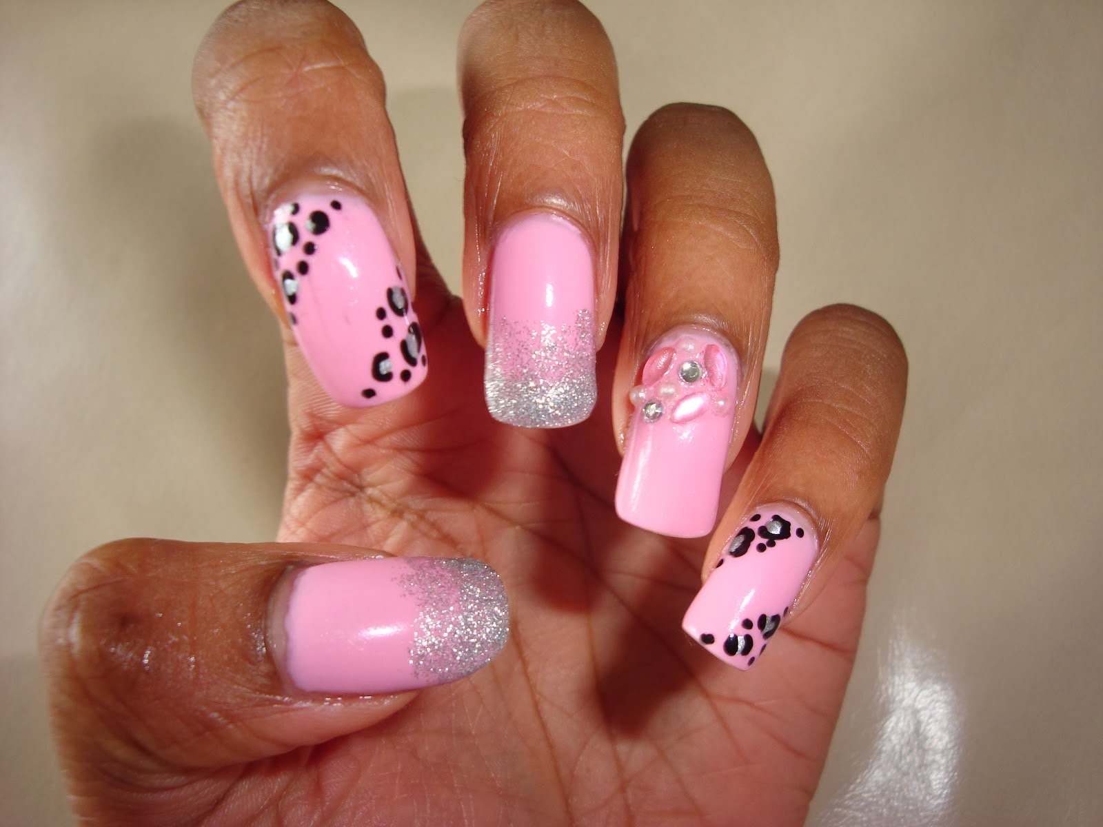 Cheetah print toe nail designs prinsesfo Gallery
