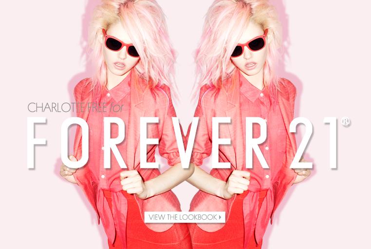 Forever 21, Charlotte Free, lookbook