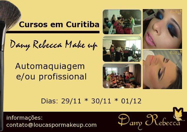 Curso de maquiagem em Curitiba profissional e automaquiagem