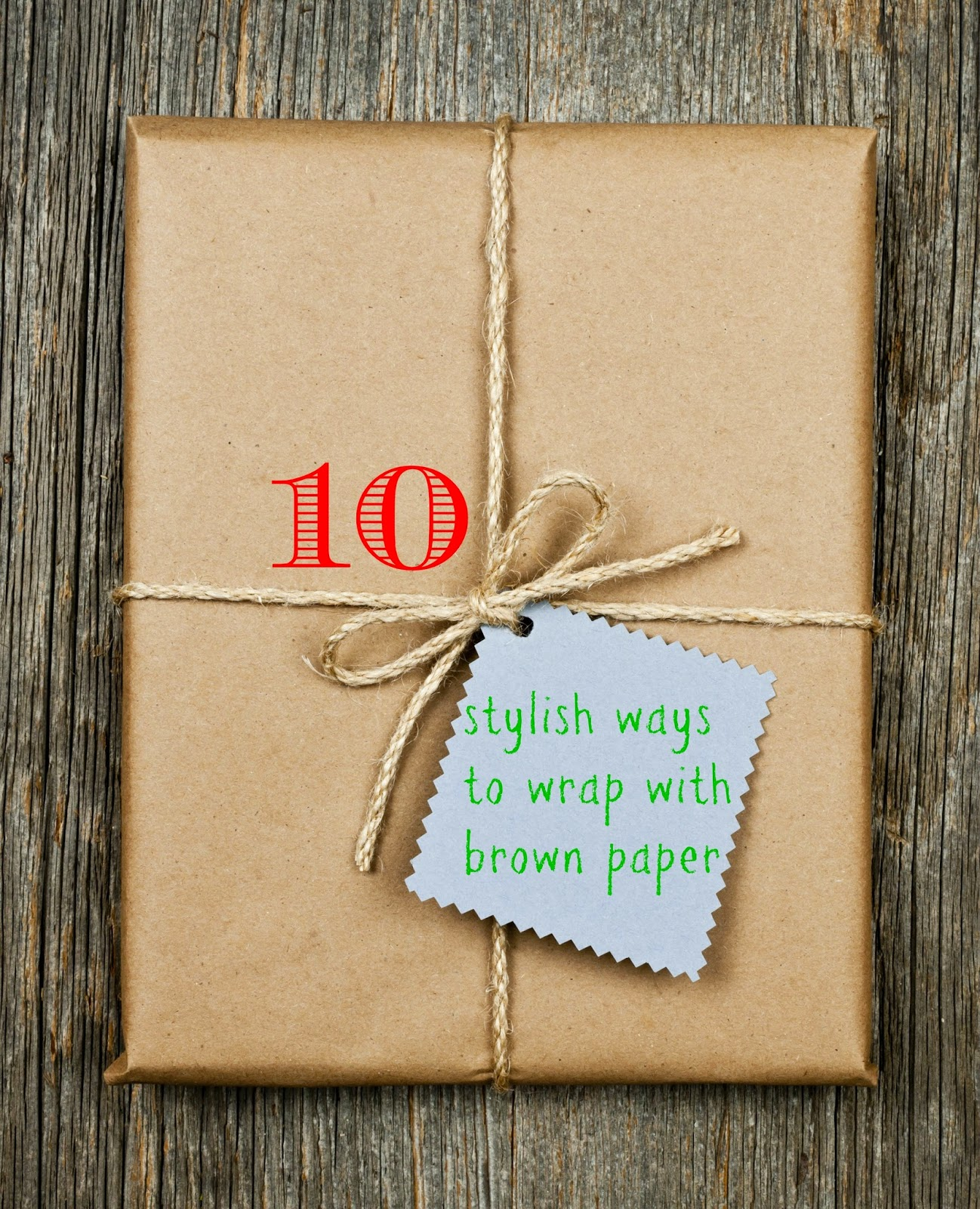 10 Stylish ways to wrap those Christmas gifts with brown ...