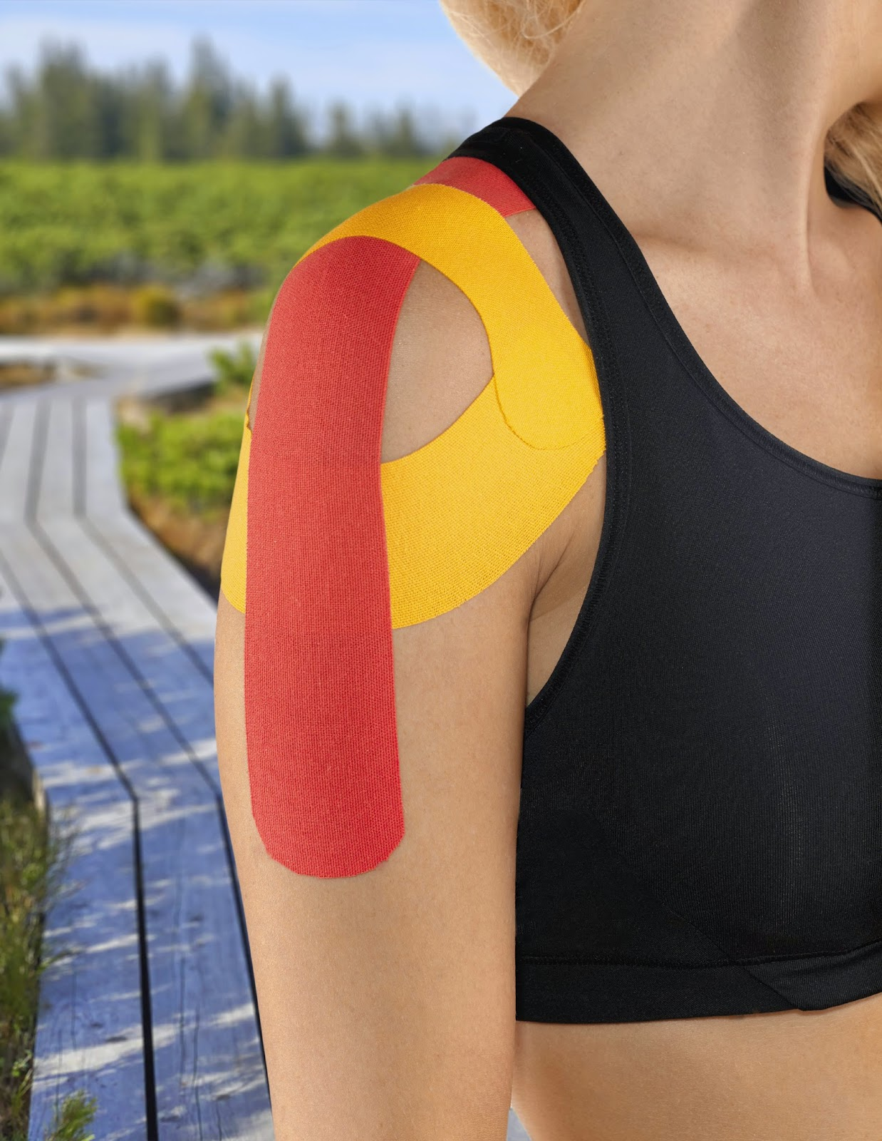 Taping to prevent or treat injury - Academy Massage Therapy - Massage Therapists - Winnipeg, Manitoba