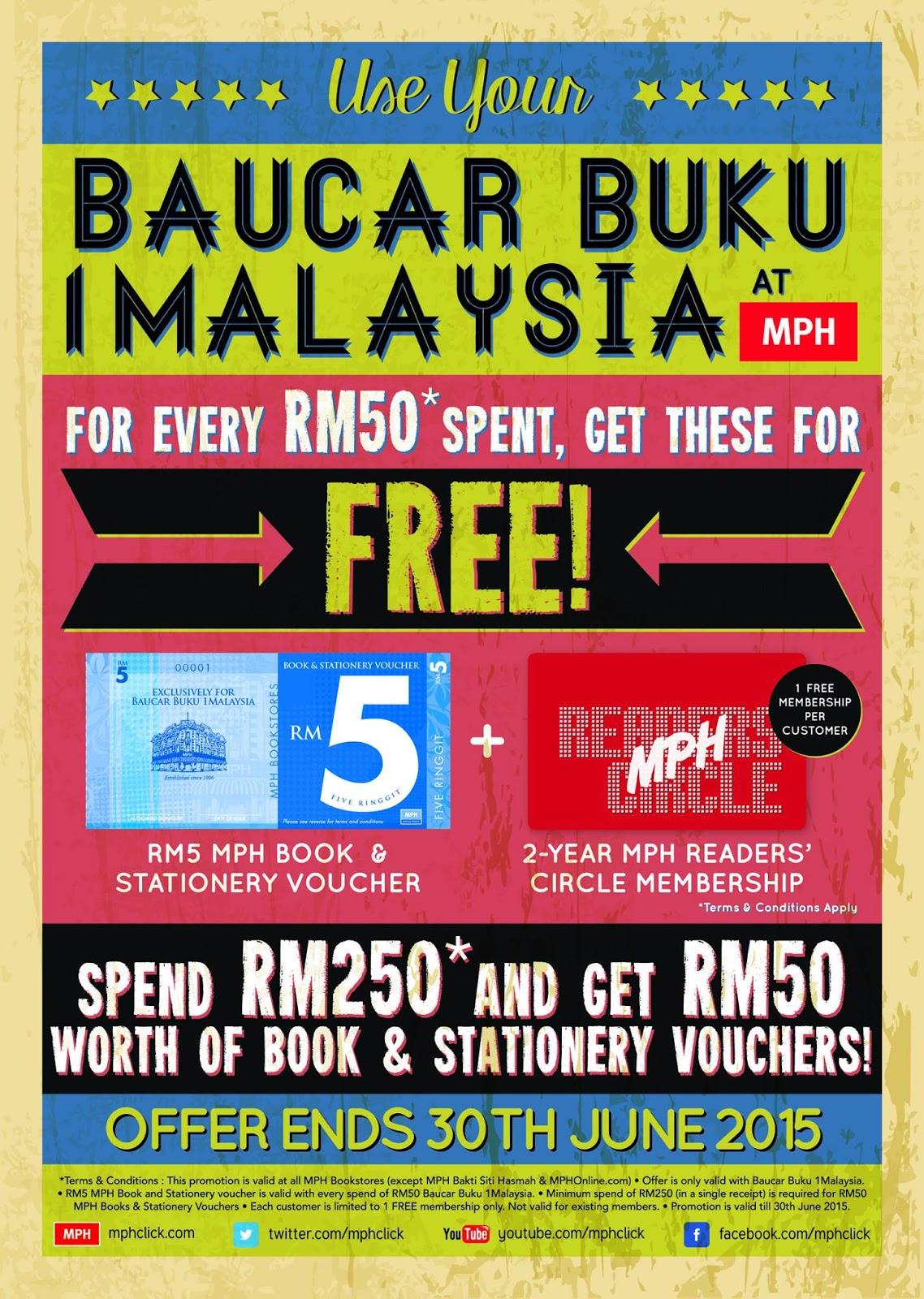 Mph S Bb1m 2015 Promotion Free Book Stationery Voucher Mph
