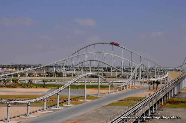 The fastest roller coaster in the world