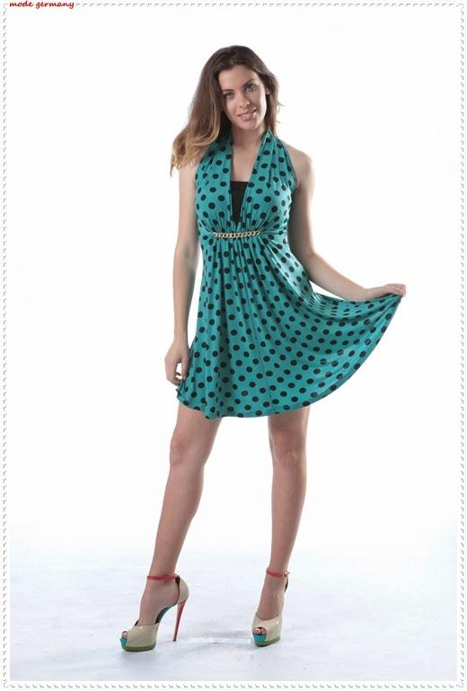 Gepunktete Kleider Modelle