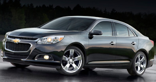 2014 Chevrolet Malibu black