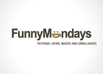 funny mondays logo design