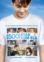 Capa do filme estadunidense 500 Dias com ela, de Marc Webb