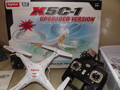 Syma X5C-1 Giveaway Prize