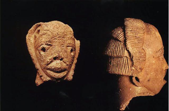 Primera%2Bcabeza%2BNok - Los Nok: El Enigma de la cultura más antigua del arte subsahariano: El descubrimiento