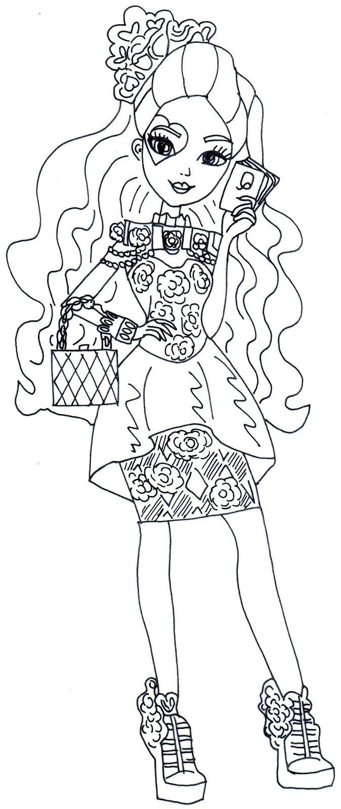 cerise coloring pages