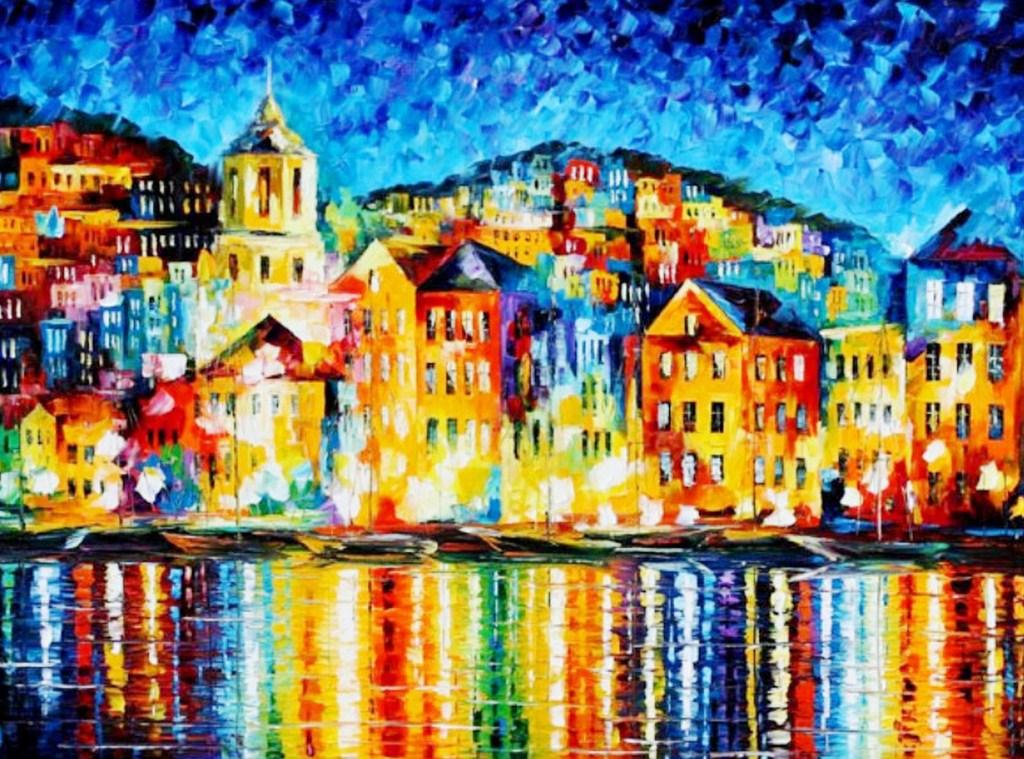 Cuadros modernos pinturas y dibujos pintores que pintan - Cuadros colores vivos ...