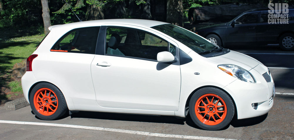 Custom 2007 Toyota Yaris Hatchback