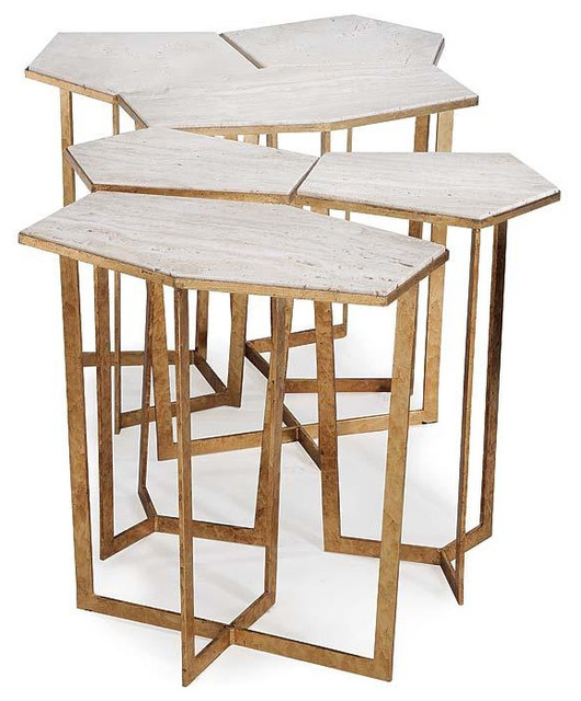 http://www.shopcandelabra.com/regina-andrew-gold-leaf-puzzle-table-set-with-travertine-top.html