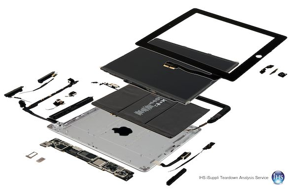 the new ipad interior structure image
