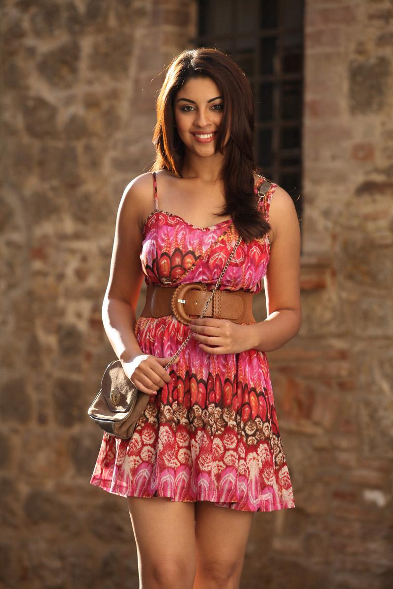 hot sexy Richa gangopadyay latest photos in shot gown