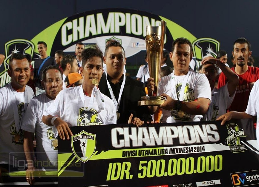 Pusamania Borneo FC Juara Divisi Utama 2014