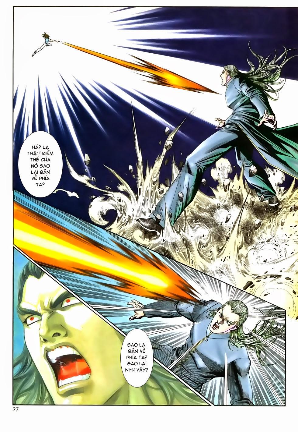Long Hổ Phong Bạo chap 9 - Trang 27