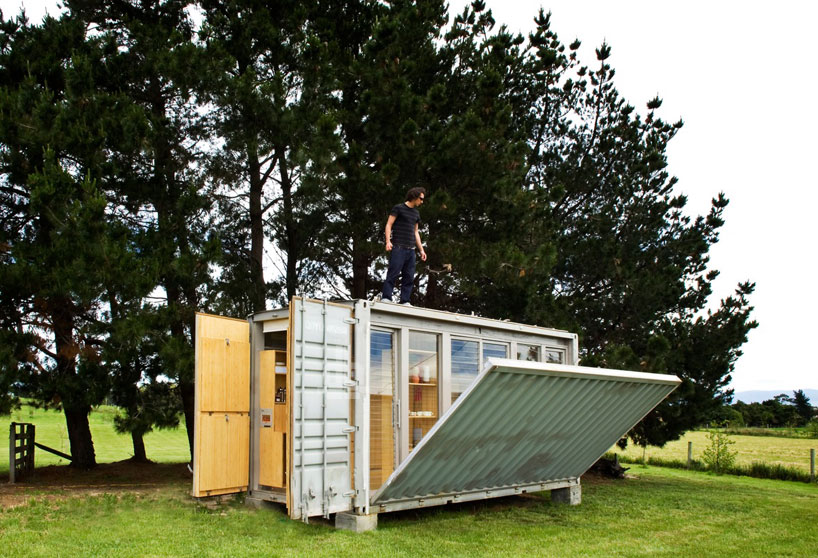 container homes portable shipping container holiday home new zealand