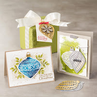 Christmas ornaments Zena Kennedy independent stampin up demonstrator