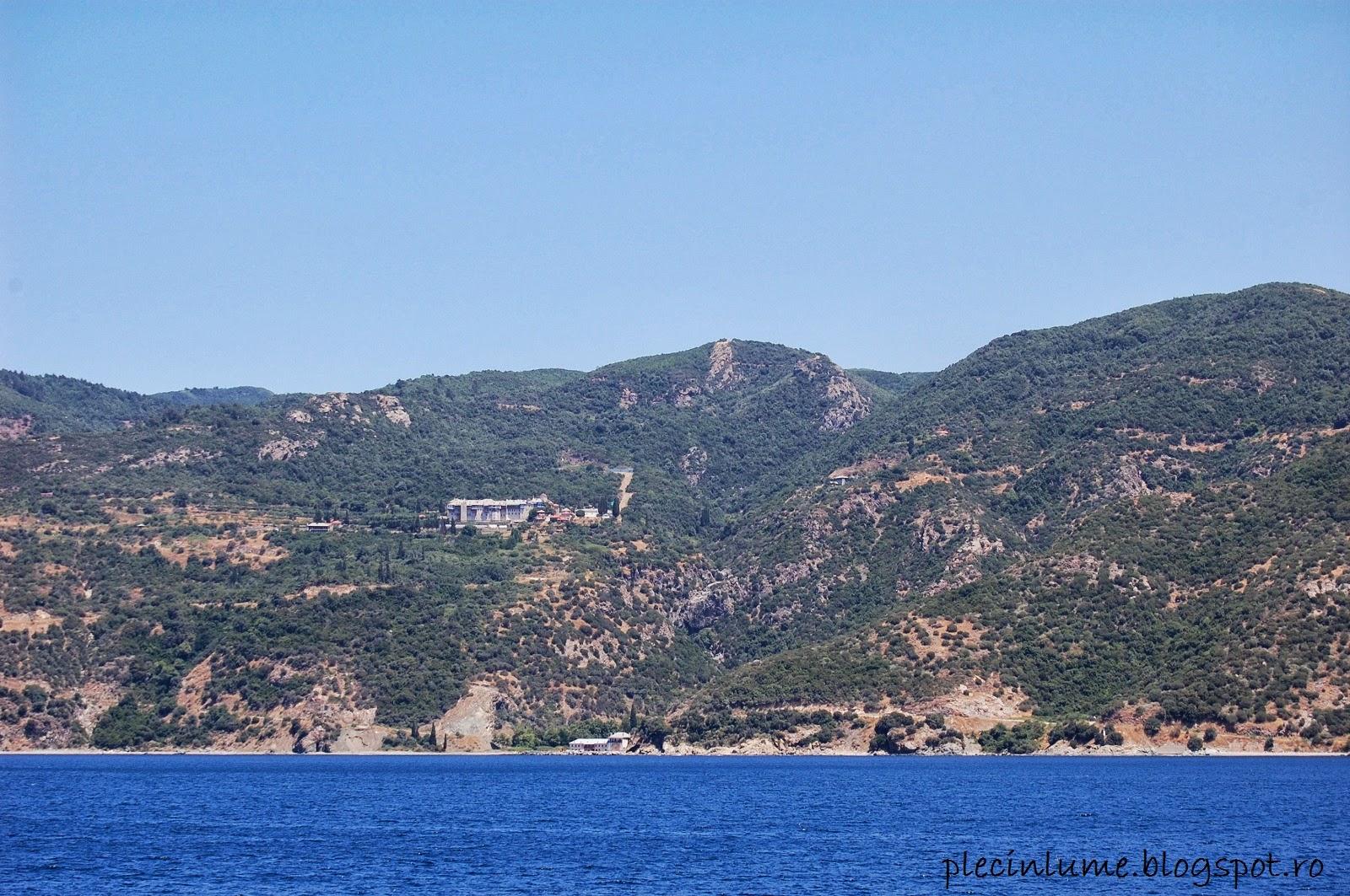 Manastirea Xiropotamos din Athos