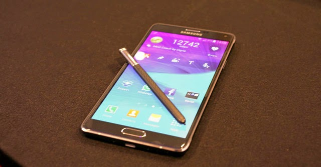 Samsung công bố bộ tứ: Galaxy Note 4, Galaxy Note Edge, Gear S, Gear VR