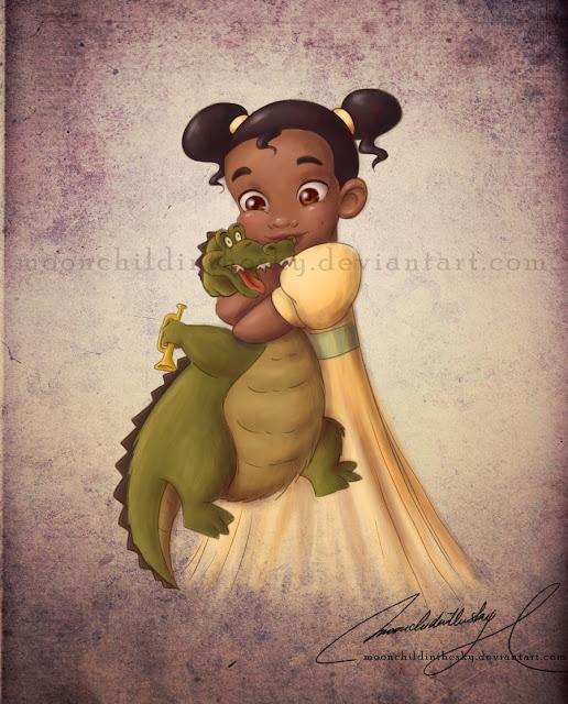 Принцессы Диснея - Страница 2 Com__child_tiana_by_moonchildinthesky-d3f07fx