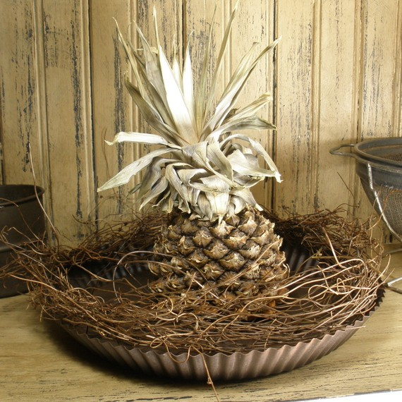 sunburnt cow handmade shop dried pineapple decor for sale