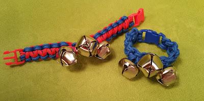 Hands On Crafts for Kids: Make Jingle Bell Paracord Bracelets