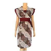 Model Busana Batik Wanita Modern