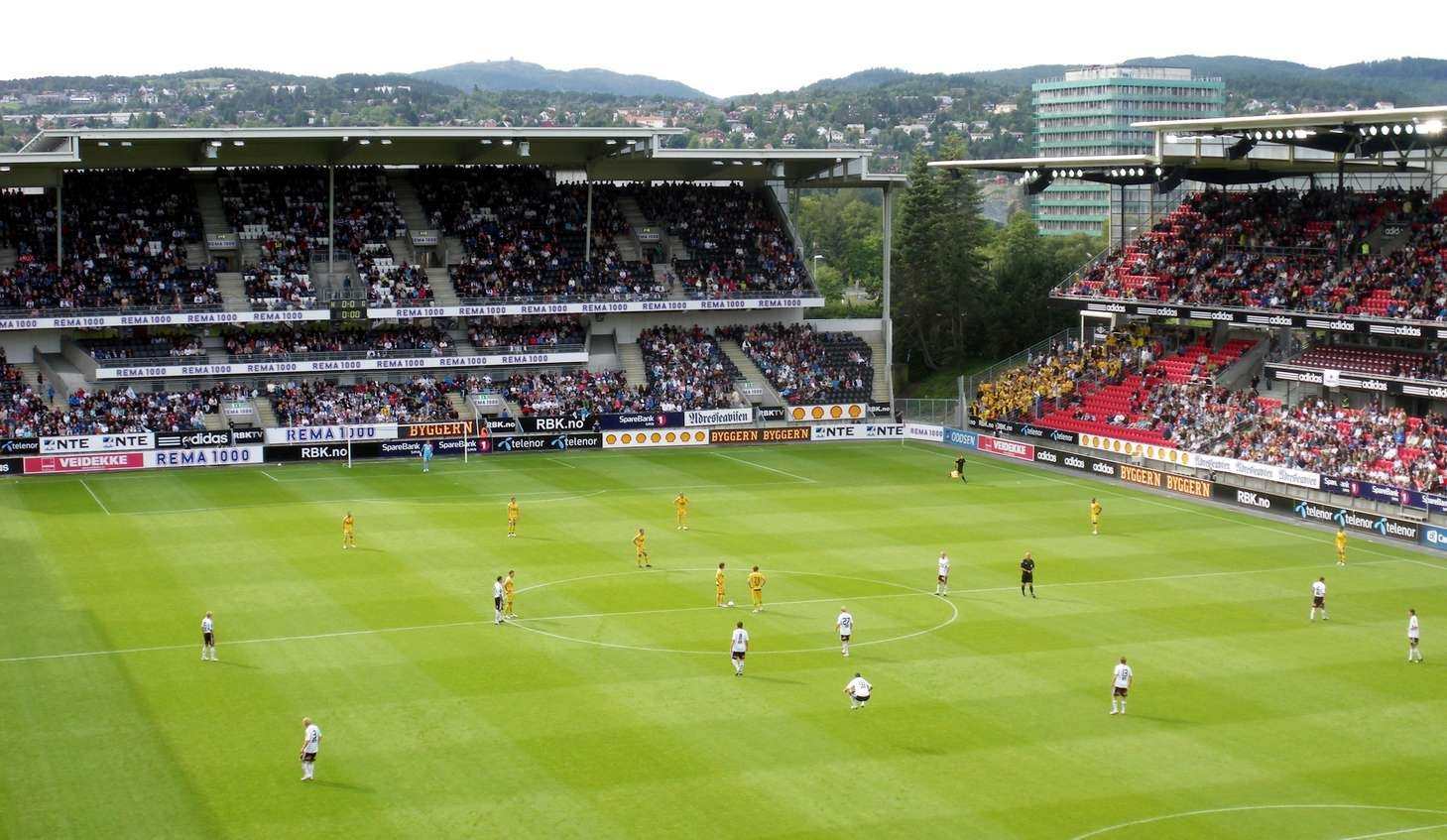 Lerkendal Stadion Lazio Rosenborg