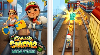 Demuestra tu habilidad en el juego de Subway Surfers