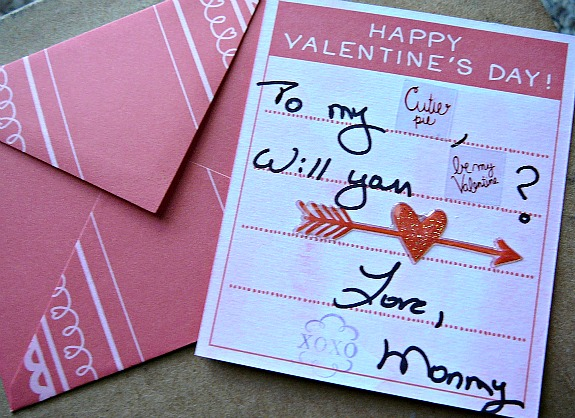 Mostly Food and Crafts Homemade Valentines Day Cards with Martha – Martha Stewart Valentines Day Cards