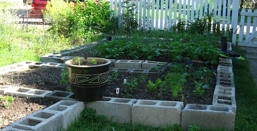 Gardening In A Concrete Block Garden Offers All Of These Benefits, With The  Additional Perk That Concrete Blocks Will Not Deteriorate Like Wood Beds  Will.