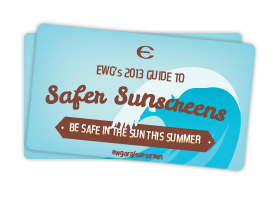 Environmental Working Group guide to safe and effective sunscreen