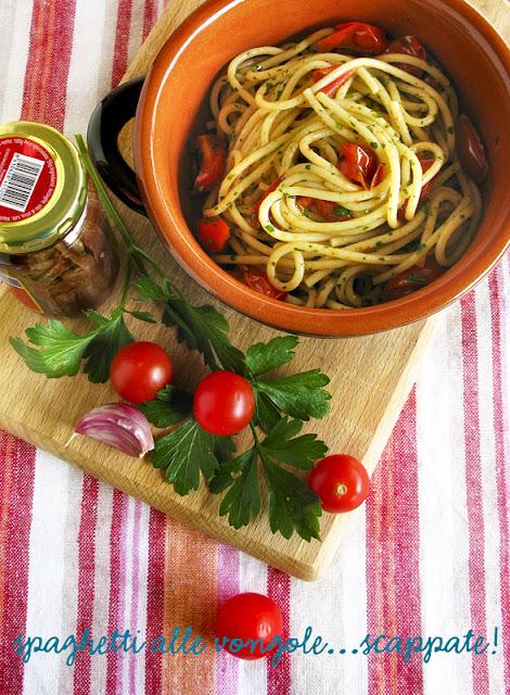 Spaghetti alle vongole scappate