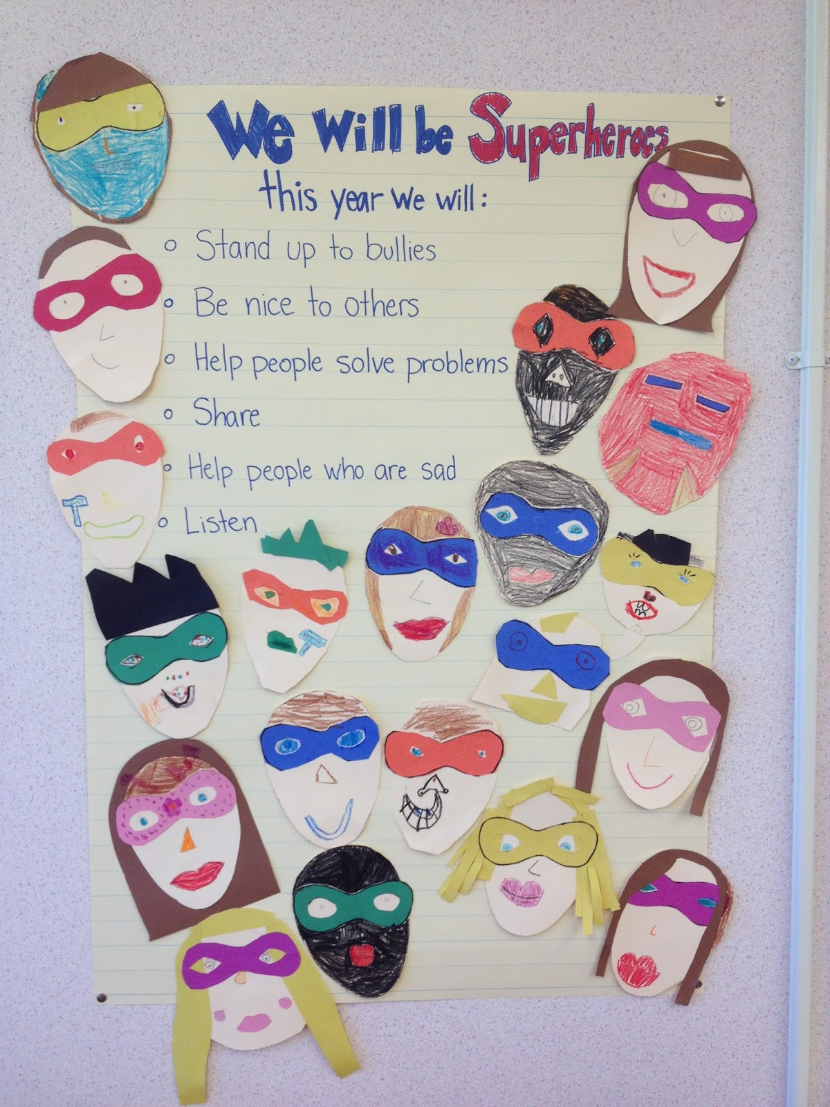 Love for Teaching: Superheroes for the year!