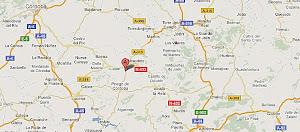 DESDE SATÉLITE.Google maps: