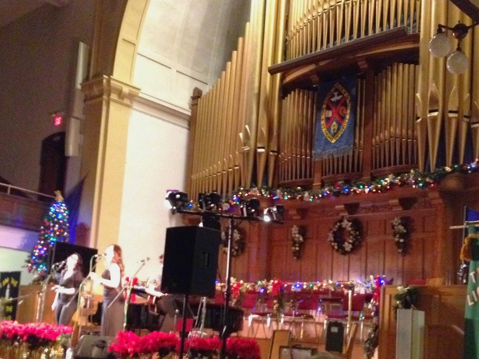 New Year at McDougall United Church Edmonton