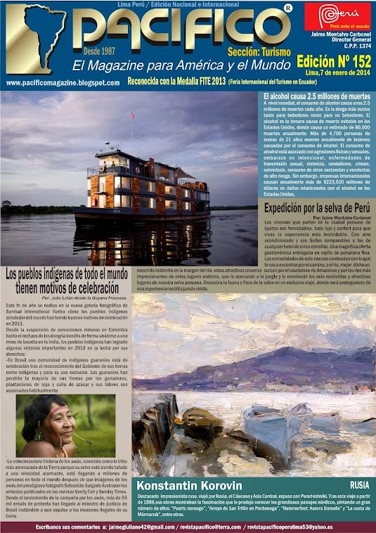 Revista Pacífico Nº 152 Turismo