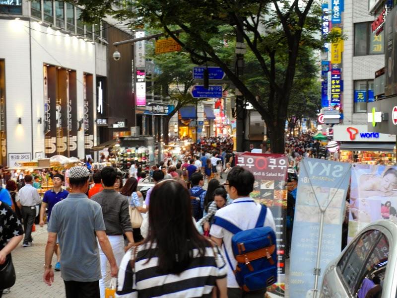 Ewha University Summer Studies Travel Seoul Myeongdong shopping lunarrive blog singapore