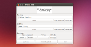 B-Label in Ubuntu Linux