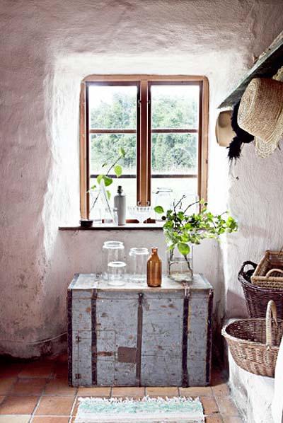 En mi espacio vital muebles recuperados y decoraci n for Como decorar una casa antigua